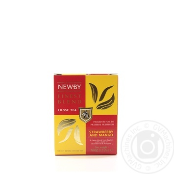 Newby Strawberry and Mango black tea 100g - buy, prices for MegaMarket - image 1