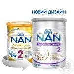 Смесь молочная Нестле Нан 2 Гипоаллергенный сухая для детей с 6 месяцев 400г - купить, цены на Ашан - фото 4
