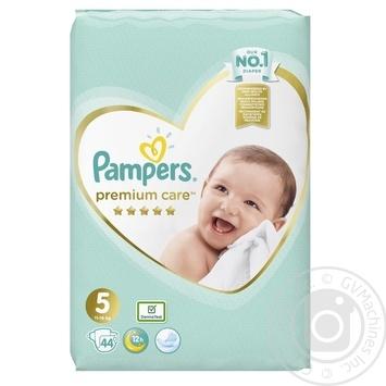 Подгузники Pampers Premium Care 5 Junior 11-16кг 44шт - купить, цены на Фуршет - фото 2