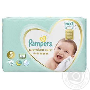 Подгузники Pampers Premium Care 5 Junior 11-16кг 44шт - купить, цены на Фуршет - фото 3