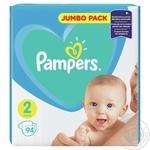 Подгузники Pampers New Baby 2 4-8кг 94шт - купить, цены на Ашан - фото 2