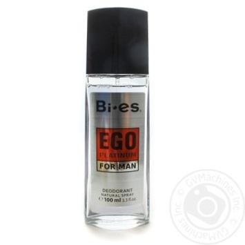 Дезодорант спрей Bi-es Ego Platinum для мужчин 100мл - купить, цены на ЕКО Маркет - фото 1