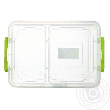 Контейнер харчовий Ал-Пластик Twin універсальний 1.03л - купити, ціни на ЕКО Маркет - фото 2