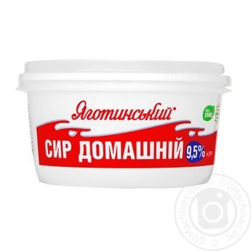 Cottage cheese Yagotynsky Homemade 9.5% 370g - buy, prices for Novus - image 2