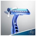 Бритвы одноразовые Gillette Blue II Plus 8шт+2 - купить, цены на Ашан - фото 2