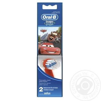 Сменные насадки для зубной щетки Oral-B с персонажами Disney 2шт - купить, цены на Novus - фото 1