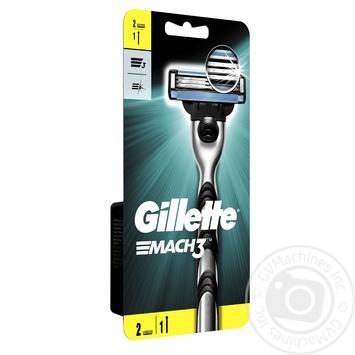 Станок для голiння Mach3 Gillette+2 картриджа - купити, ціни на Восторг - фото 3