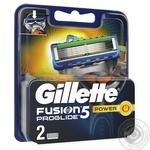 Змінні картриджі для гоління Gillette Fusion5 ProGlide Power 2шт - купити, ціни на Novus - фото 3