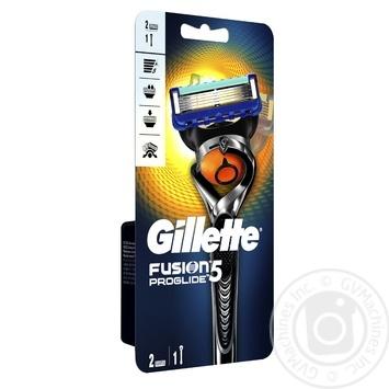 Бритва Gillette Fusion5 ProGlide Flexball c 2 сменными картриджами - купить, цены на Таврия В - фото 2
