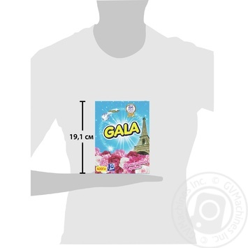 Gala 3in1 French aroma automat powder detergent 400g - buy, prices for Furshet - image 3