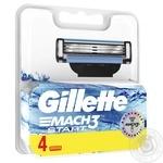 Касети для гоління Gillette Mach3 Start змінні 4шт - купити, ціни на Восторг - фото 2