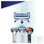 Касеты для бритья Gillette Skinguard Sensitivе сменные 4шт - купить, цены на Varus - фото 3