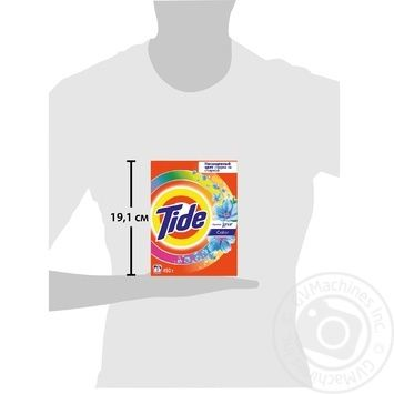 Tide Color Lenor Aroma Automat Laundry Powder Detergent 450g - buy, prices for Furshet - image 2