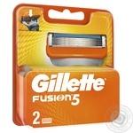 Картриджі для гоління Gillette Fusion змінні 2шт - купити, ціни на ЕКО Маркет - фото 3