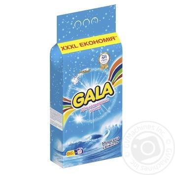Стиральный порошок Gala Морская свежесть для цветного белья 8кг - купить, цены на Ашан - фото 3