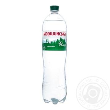 Минеральная вода Моршинская природная слабогазированная 1,5л