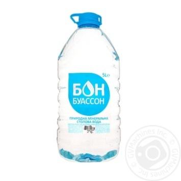 Still natural mineral water Bon Boisson 5l - buy, prices for Furshet - image 3