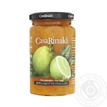 Варення Casa Rinaldi з італійського бергамота 330г - купити, ціни на Восторг - фото 1