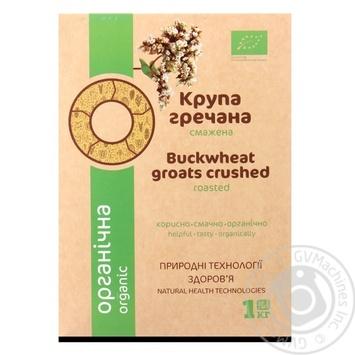 Крупа Galeks Agro гречневая ядрица органическая 1кг - купить, цены на МегаМаркет - фото 1