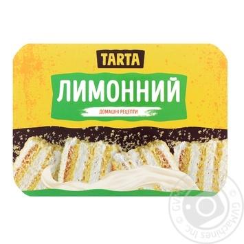Торт Tarta Лимонный 370г - купить, цены на Фуршет - фото 1