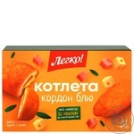 Legko Cordon bleu chicken frozen precooked cutlet 315g