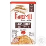 Мука EuroMill пшеничная высший сорт 1кг