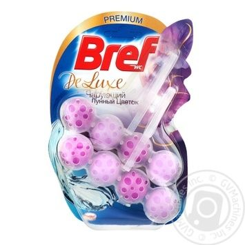 Bref Delux Block for the toilet Moonflower 2*50g