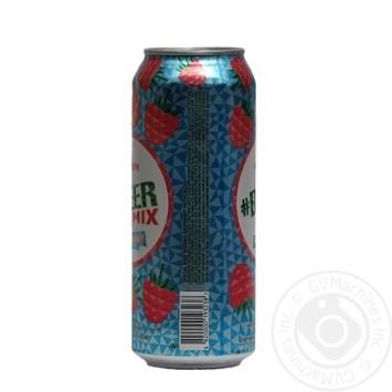 Пиво Оболонь Beermix Малина світле 2,5% 0,5л - купити, ціни на МегаМаркет - фото 3