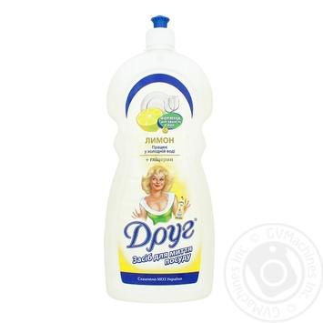 Druh Dishwashing Liquid Lemon 1l - buy, prices for Furshet - image 1