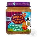 Puree Lozhka v kadoshke chicken for children from 6 months 100g