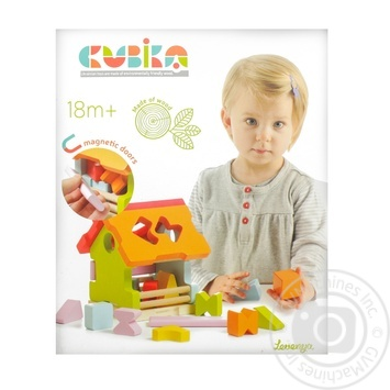 Игрушка Левеня Сортер дом LS-1 11599 - купить, цены на Фуршет - фото 2