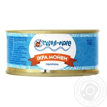 Hulyay More Capelin Smoked Caviar 100g - buy, prices for Furshet - image 1