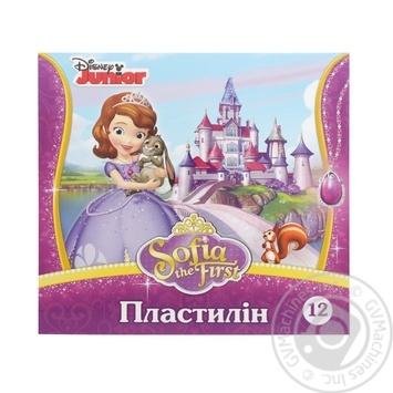 Plasticine Mitsar Sofia 12colors for modelling 210g - buy, prices for Furshet - image 1