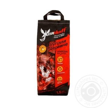 Уголь Jarrkoff древесный 1.3кг - купить, цены на Восторг - фото 1