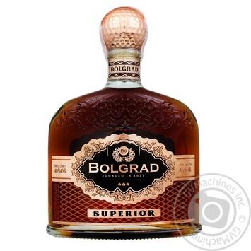Bolgrad Superior 3 stars Cognac 40% 0,5l