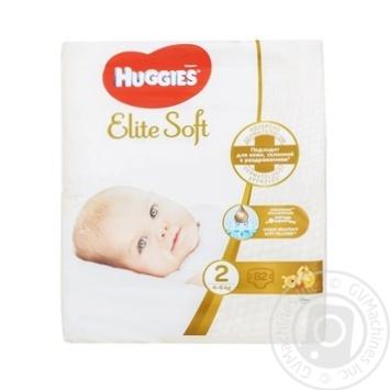 Підгузки Huggies Elite soft 4-6кг 80 шт - купити, ціни на Novus - фото 4