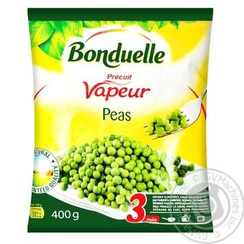Горошек зеленый Bonduelle на пару замороженный 400г - купить, цены на Novus - фото 2