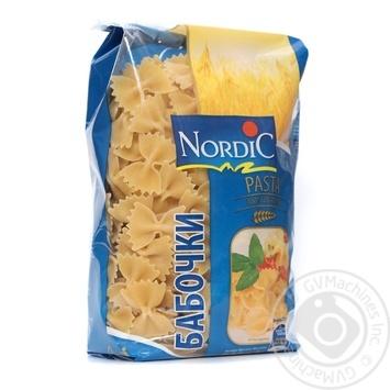 Макарони Метелики Nordic 500г - купить, цены на Novus - фото 1