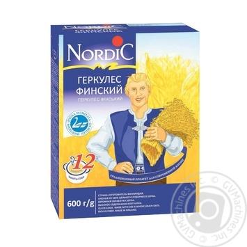 Пластівці вівсяні Nordic Геркулес фінський 600г - купити, ціни на Novus - фото 1