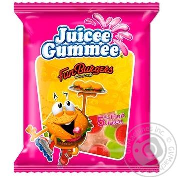 Конфеты жевательные Juicee Gummee Веселые бургеры 80г - купить, цены на Восторг - фото 1