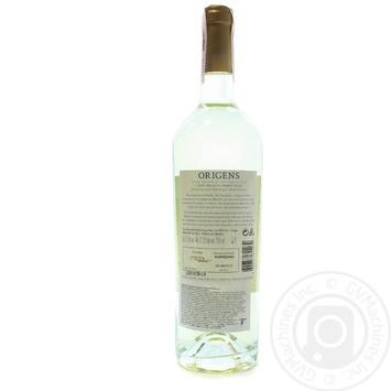 Вино Origens White Alentejano белое сухое 12,5% 0,75л - купить, цены на Novus - фото 2