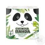 Snow Panda Toilet Paper 8pcs - buy, prices for Novus - image 1