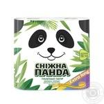 Бумага туалетная Снежная панда Extra Long 4шт