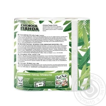 Snow Panda Toilet Paper 4pcs - buy, prices for Tavria V - image 3