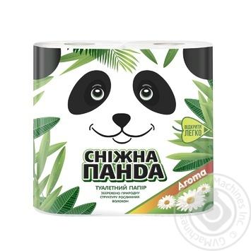 Snow Panda Toilet Paper 4pcs - buy, prices for Tavria V - image 1