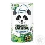 Towel Snizhna panda paper - buy, prices for Novus - image 1