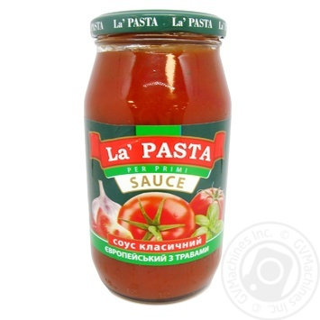 Sauce La pasta European with herbs 460g