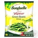 Фасоль Bonduelle зеленая стручковая целая на пару замороженная 400г - купить, цены на Метро - фото 1