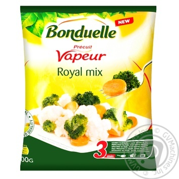 Суміш овочева Bonduelle Імператорська 400г - купити, ціни на МегаМаркет - фото 1