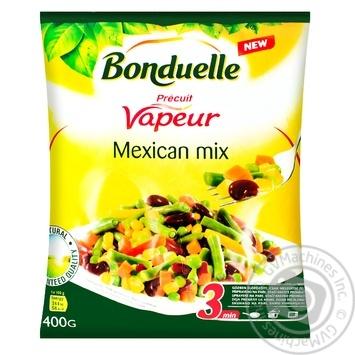 Суміш овочева Bonduelle Мексиканська на парі заморожена 400г - купити, ціни на Varus - фото 1